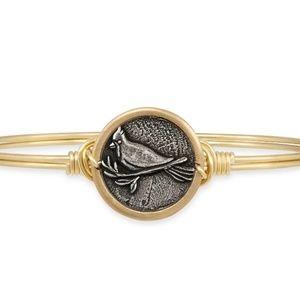 Cardinal bangle bracelet